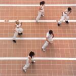 Zeev Matar Web site - Gima - Klinker flooring tile - 2 reference picture - tanzgruppe1